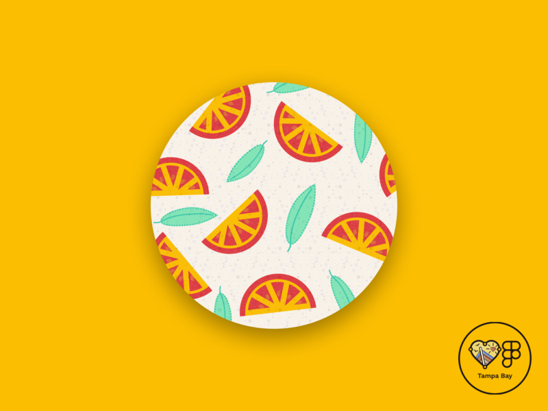 Tomato Pattern figma icon vector illustration patterns