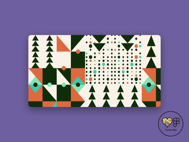 Trees and Stuff Pattern illustration vector figma patterns