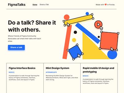 Figma Talk patterns illustration website figma