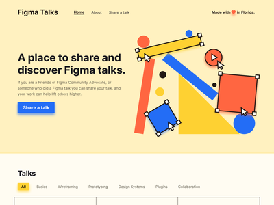 Home iteration website figma illustration vector