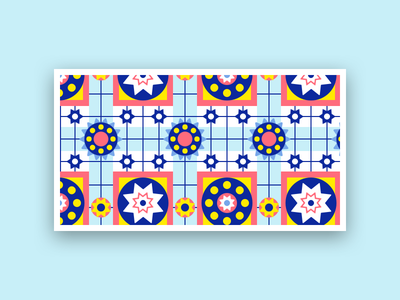 Patterns Day 05 30daychallenge illustration tile moroccan patterns
