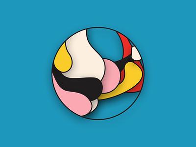 Amorphic Pattern branding illustration figma patterns