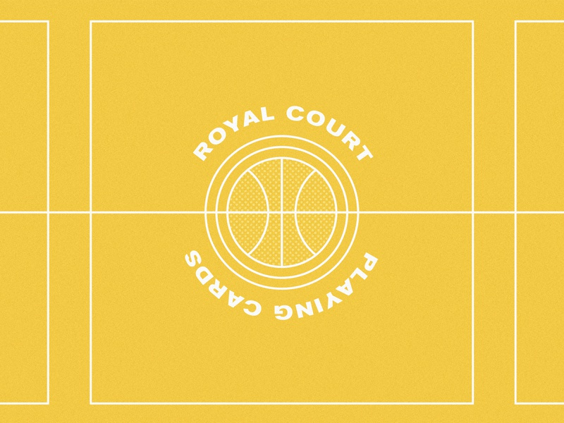 The Royal Court: LA Lakers ball losangeles la cards sports basketball nba lakers design illustrations identity print logo simple illustrator branding illustration vector