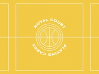 The Royal Court: LA Lakers ball losangeles la cards sports basketball nba lakers design illustrations identity print logo simple illustrator branding illustration vector