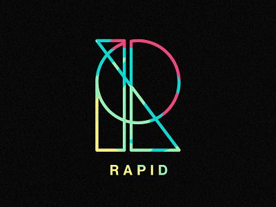 Rapid Logo simple typography identity logo illustrator branding illustration vector
