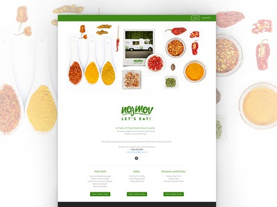 Noj Mov Teaser Homepage  spices cuisine food foodtruck asian nojmov weebly teaser web design homepage site website