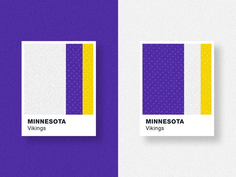 Jersey Chips Series: Home/Away hue textures sports patterns pantone jerseys football color