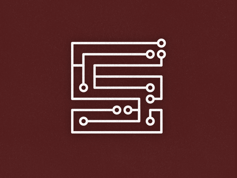 Tech Logo it tech letter vector branding logo