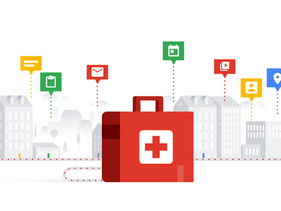 Healthcare in the Cloud white vector illustrator illustration med health healthcare color