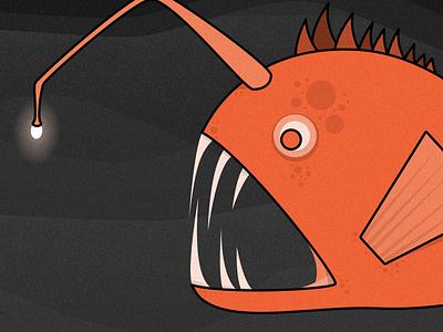 Deep Sea Exploring textures exploring sea fish ocean vector illustrator illustration