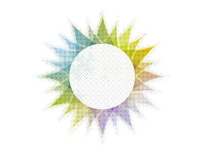 Summer 2018 shapes textures hue illustration color sun summer