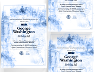 GW Birthday Ball 2019 Invites