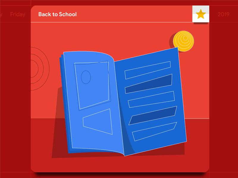 Back to School: Magazine Illustration education book school illustrations icons illustrator illustration vector