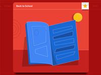 Back to School: Magazine Illustration