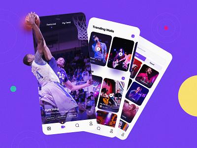 Snack App ios ux video user ui sketch player movie mobile list kit app