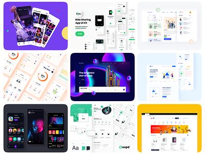 2020 Project Shots website animation flat minimal web icon typography vector branding ui logo illustration design ux app