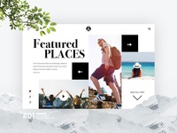 Travel Web Concept