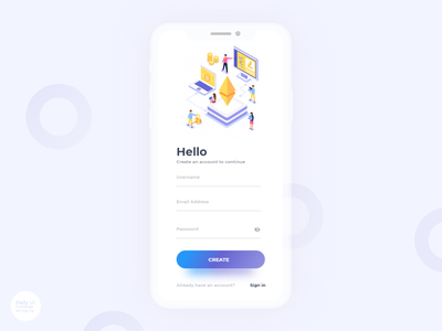 01  Sign Up Daily Ui Challenge dailyui mining mega hash litecoin ethereum eth dogecoin mining signup cryptocurrency mining crypto mining cloud miner btc bitcoin mining miner bitcoin