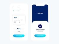 E-Commerce Checkout App Screen Freebie