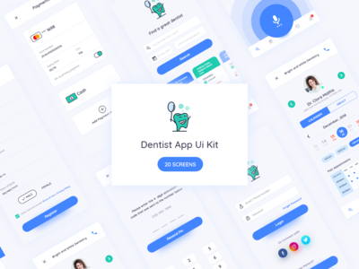 Dentist App Dribbble