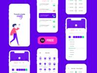M-Indicator App Concept Freebie