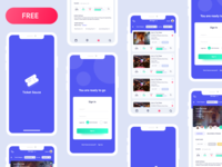 App Ui Freebie for event organizers and event management