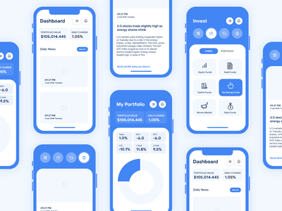 Moneyguru App Freebie android ios design app services onepage firm finance dark corporate company business bookkeeping audit accounting accountant account