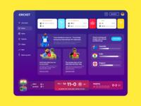 Icc Cricket World Cup Ui Freebie