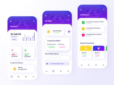 Blockchain App Ui