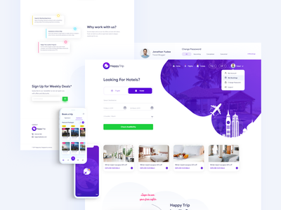 Happy Trip web  And App travel rooms resort reservation motel hotel wordpress theme hotel wordpress hotel theme hotel booking hotel hostel chalet booking apartment accommodation