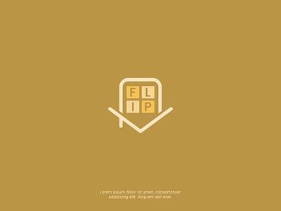 FLIP logo design design vector inkscape logo