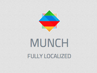 Munch Logo and Site Design