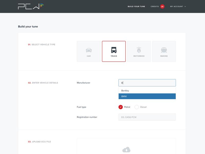Form menu upload button hover option selection dropdown input ui web form