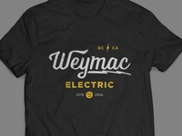 Weymac Electric Tee