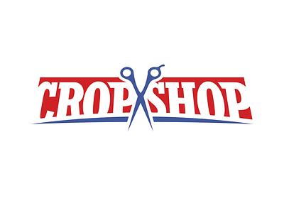 Barbershop Logo daily logo challenge weekly warm-up branding logo vector