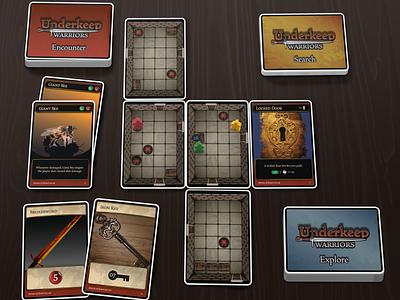 Tabletop Game Concept branding tabletop illustration vector