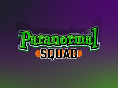 Paranormal Squad Logo vector design logo