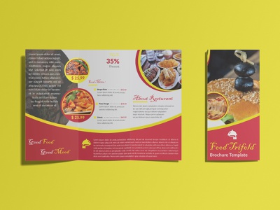 Food Trifold Brochure Design trifold design cretive trifold design food design corporate design brand design unique design creative design graphic design trifold mockup trifold template trifold brochure design brochure design trifold brochure food trifold food brochure brochure trifold