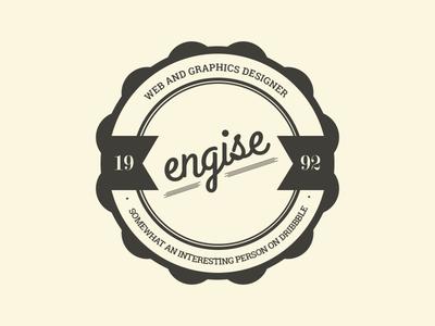 engise vintage seal engise logo vintage seal