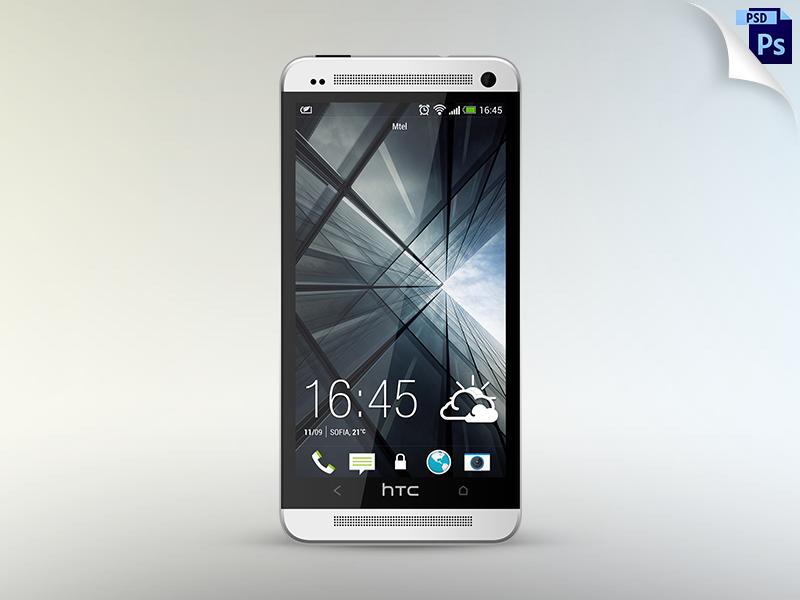 Free HTC One mockup free freebie htc one mockup