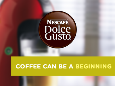 NESCAFÉ® Dolce Gusto® Coffee can be a beggining