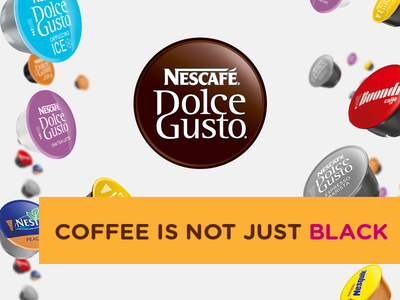 NESCAFÉ® Dolce Gusto® Coffee is not just black