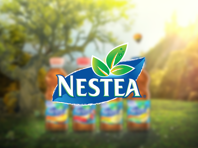 Nestea Stevia nestea promotional advertisment ad banner stevia design