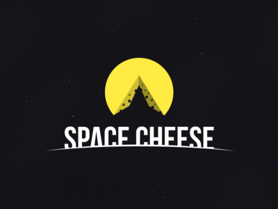 Space Cheese logo cheese space