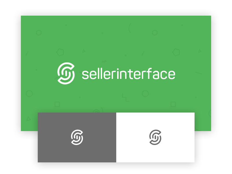 seller interface logo sellerinterface mark logotype design logo interface seller