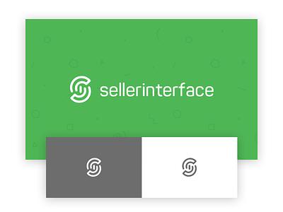 seller interface logo sellerinterface mark logotype design logo interface seller