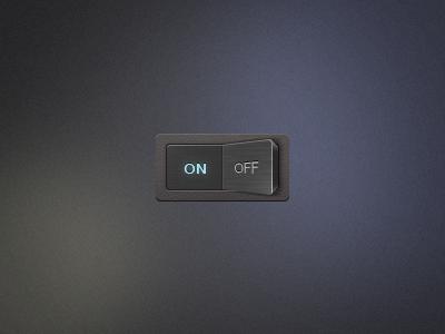 I/O Flip Switch v2 ui switch flip io off on button