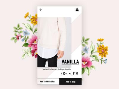 Vanilla 💐