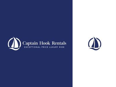 Captain Hook Rentals Branding