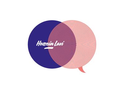 New personal logo graphic profile visual communication hossein lavi communication typography identity brand branding logotype logo